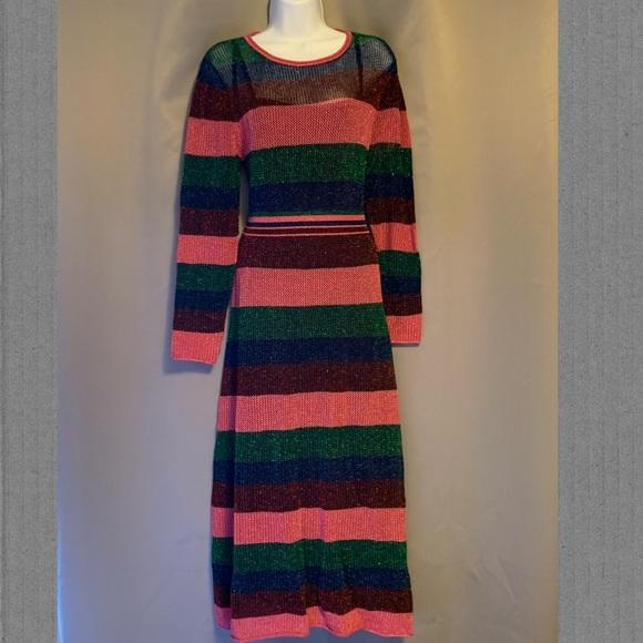 Zara Stripped Knit Dress